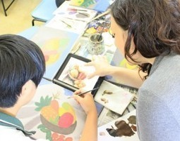 iPad Art Room - 21st Century Teaching & Learning in Visual Art | Art Fun | Scoop.it