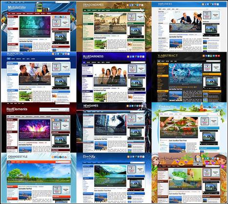 12 Plantillas para WordPress   El Mundo del Diseño Gráfico   Scoop.it