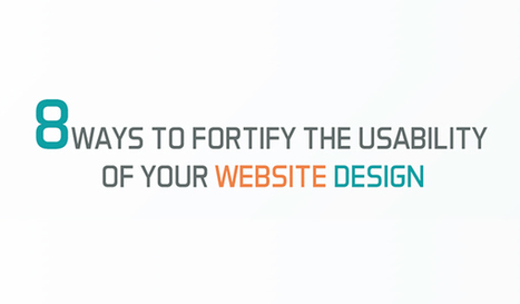 Your Website is Annoying! Follow These 8 Tips to Improve Usability [Infographic] | Web design- promoting your Website | Scoop.it