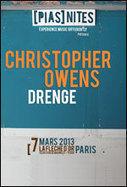 [PIAS] NITES CHRISTOPHER OWENS + DRENGE - FLECHE D'OR à PARIS 20 - Pop-rock/Folk | Why Music Sounds Good | Scoop.it