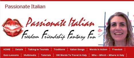 Passionate Italian | Freedom >> Friendship >> Fantasy >> Fun | Learn Italian | Scoop.it