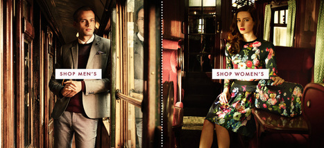 Ted Baker Menswear and Women's Clothing | webdesign inspiration | Scoop.it