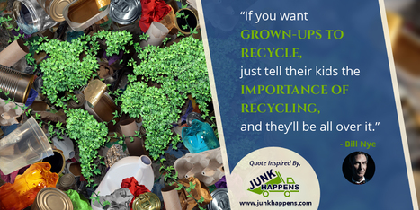 A quotography on junk removal and recycling waste | Infographic Collection | Scoop.it