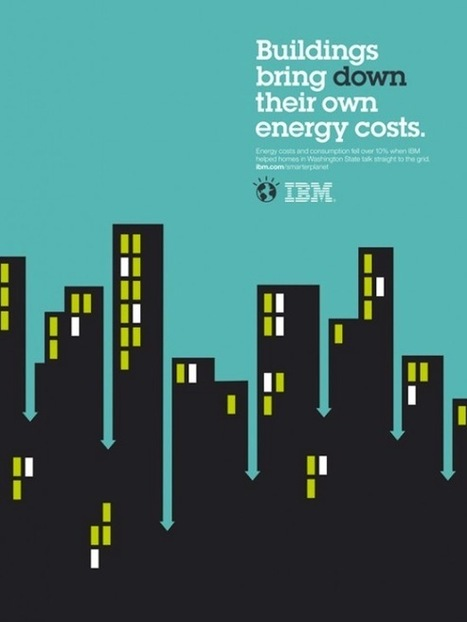 IBM's Smarter Planet Illustrations are Clever! (11 total) - My Modern Metropolis | Clever Campaigns | Scoop.it