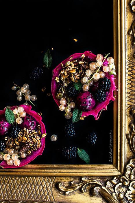 Bol de pitahaya con granola y yogurt de lima - Bake-Street.com | Passion for Cooking | Scoop.it