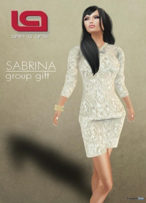 Sabrina Dress Group Gift by ANIN a GRIS | Teleport Hub - Second Life Freebies | Second Life Freebies | Scoop.it