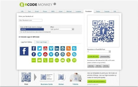 3 Powerful QR Code Generator Apps for Chrome Users | Pedalogica: educación y TIC | Scoop.it