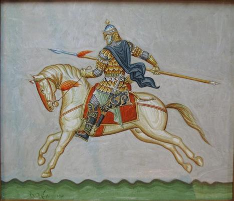 Δημήτρης Σκουρτέλης. ΑΚΡΙΤΕΣ - Byzantine icons and church murals | Acritans | Scoop.it