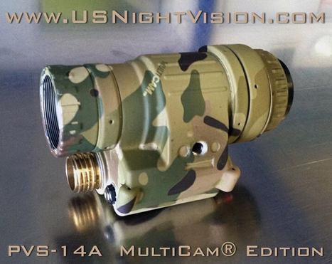 US Night Vision PVS-14A in Multicam Edition | Airsoft Showoffs | Scoop.it