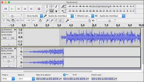 Déplacer un son dans Audacity | Freewares | Scoop.it