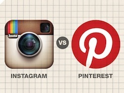 Visual Social Media: Evaluating Pinterest vs. Instagram - Business 2 Community | Corporate Social Business | Scoop.it