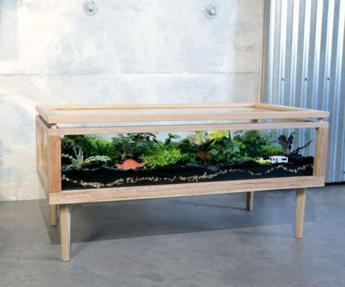 Terrarium Table | Container Gardening | Scoop.it