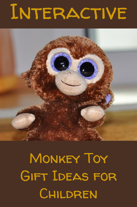Interactive Monkey and Chimp Toys - Great Gift Ideas | Home and Garden | Scoop.it