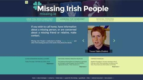 Missing persons: out of sight, but not out of mind | The Irish Literary Times | Scoop.it