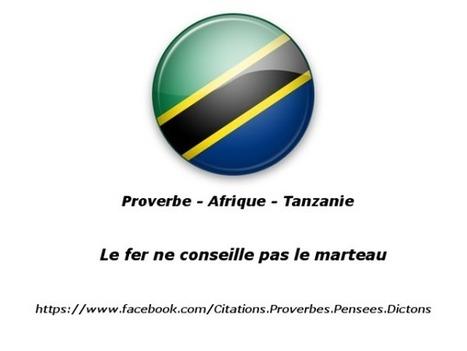 Proverbe Afrique Tanzanie : Le fer ne conseille pas le marteau | Actualités Afrique | Scoop.it