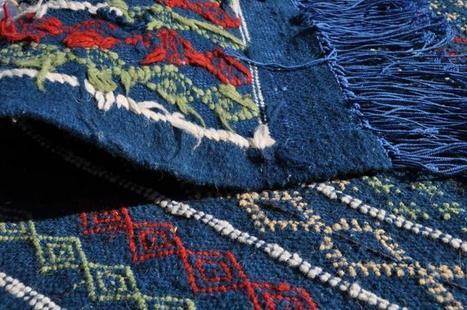 Les tissages chargés d'histoire de Oudref (Gabès) | Foire nationale du tapis et tissages traditionnelles | Scoop.it