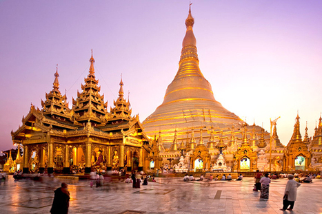 Myanmar cultural heritage: Shwedagon golden temple | Travel Tips | Scoop.it