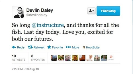 What does Devlin Daley's departure mean for Instructure? - | Educational Technology in Higher Education | Scoop.it
