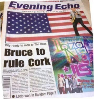 La setlist peu banale du concert de Bruce Springsteen à Cork (Irlande) - le blog Bruce Springsteen | Bruce Springsteen | Scoop.it