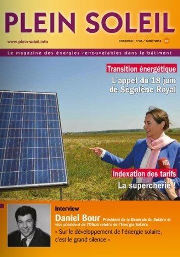 Cédric Philibert (AIE) : « Nous sommes plus alarmistes que l'an dernier sur le développement du PV » | Plein Soleil | Actualités écologie et développement durable | Scoop.it