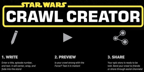 Star Wars Crawl Creator in the Classroom | Technology in the Classroom; 1:1 Laptops & iPads & MORE | Scoop.it