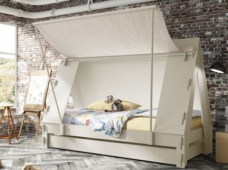 Una tienda de campaña,a tu niño le encantara dormir aqui www.paratubebe.net | paratubebe | Scoop.it