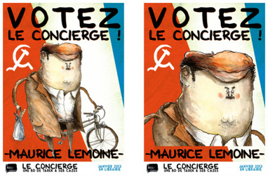 Lancement officiel de la campagne municipale | Le Concierge | • Bande dessinée • Comics book • | Scoop.it