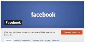 Facebook Lance Le Plugin «Facebook for Wordpress» | SEO, réseaux sociaux, stratégie digitale, contenu et blablabla. | Scoop.it