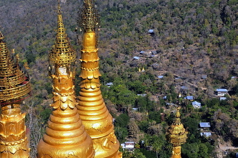 Mount Popa ; monkeys and ghosts on a Burmese volcano | The Blog's Revue by OlivierSC | Scoop.it
