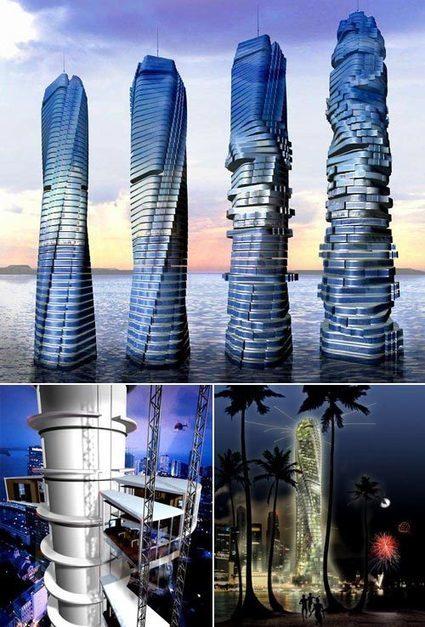 Así es el primer rascacielos giratorio y ecológico del mundo - Ecoportal.net | Misc | Scoop.it