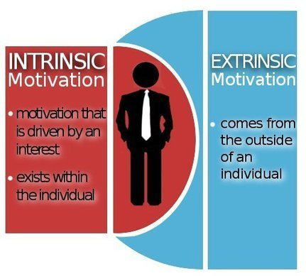 Motivation - Intrinsic vs. Extrinsic - Excellence For Everyone | Intrinsic motivation | Scoop.it