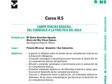 Competencias Básicas: del currículo al aula | Gogoetarako eta formaziorako materialak (Hizkuntzak) Materiales para la reflexión y la formación (Lenguas) | Scoop.it