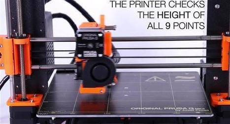 Prusa I3 MK2 3D, the first printer to auto-calibrate its geometry! | Heron | Scoop.it