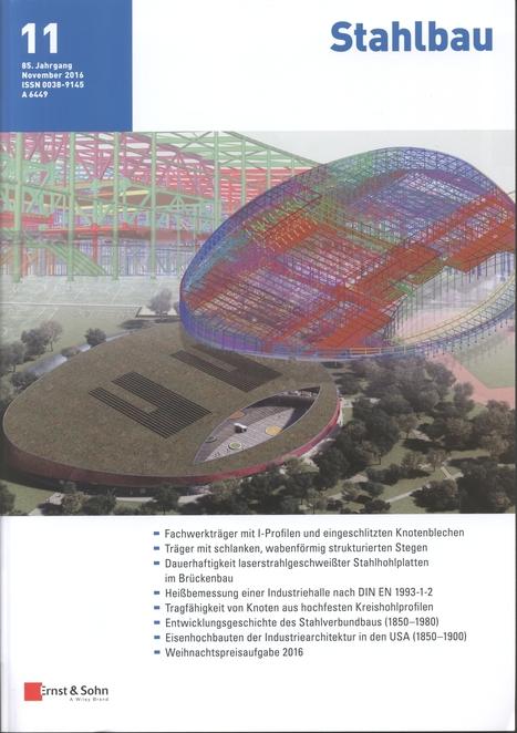 Stahlbau, Jahrgang 85, nº 11 (2016)   Ingeniería Civil   Scoop.it