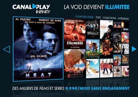 Menacé, Canal + investit la SVOD et lance CanalPlay Infinity | Radio 2.0 (En & Fr) | Scoop.it