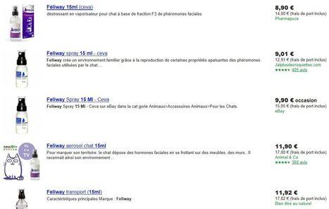 Pharmapuce propose le meilleur prix pour le feliwat 15 ml sur google shopping | CaniCatNews-actualité | Scoop.it