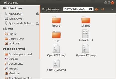 Pedagobox ou comment bricoler son serveur de fichier wifi personnel. - En faire une pedagobox? | Culture scientifique et TIC | Scoop.it