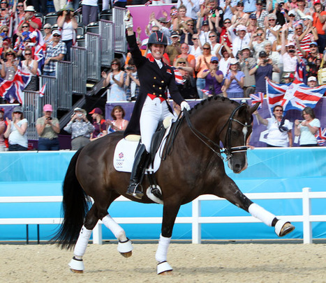 Charlotte Dujardin and Valegro win Olympic individual gold | Equestrian Olympics 2012 | Scoop.it