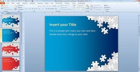 Download Free Puzzle Pieces PowerPoint Template for Presentations   PowerPoint Presentation   Iteligencia Emocional   Scoop.it