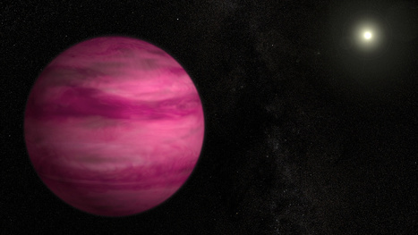 Astronomers Discover a Pink Planet Around a Sun-like Star   Astronomy   Scoop.it
