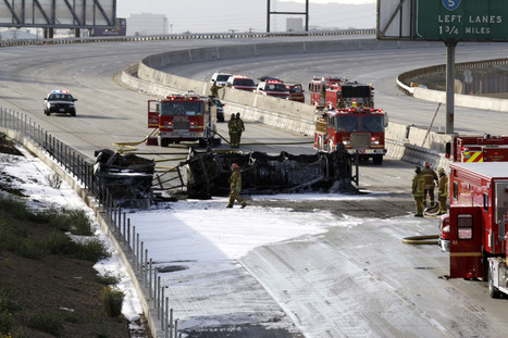 4 stretches of freeways near Los Angeles tally most big rig crashes per mile annually | California Trucking Safety and Accident Claim News and Information | Scoop.it
