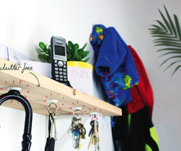 Replace hooks with sugru + magnets - Instructables   StickerYou   Scoop.it