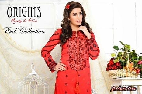 Stylish Ready to Wear Eid Collection 2014 For Women By Origins   joshpk   Scoop.it