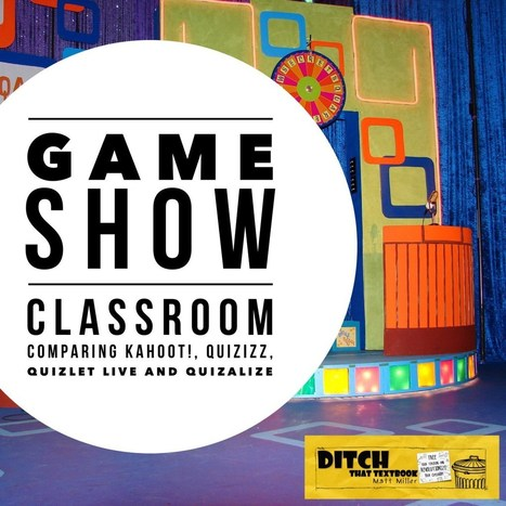 Game show classroom: Comparing Kahoot!, Quizizz, Quizlet Live and Quizalize | Serious Play | Scoop.it