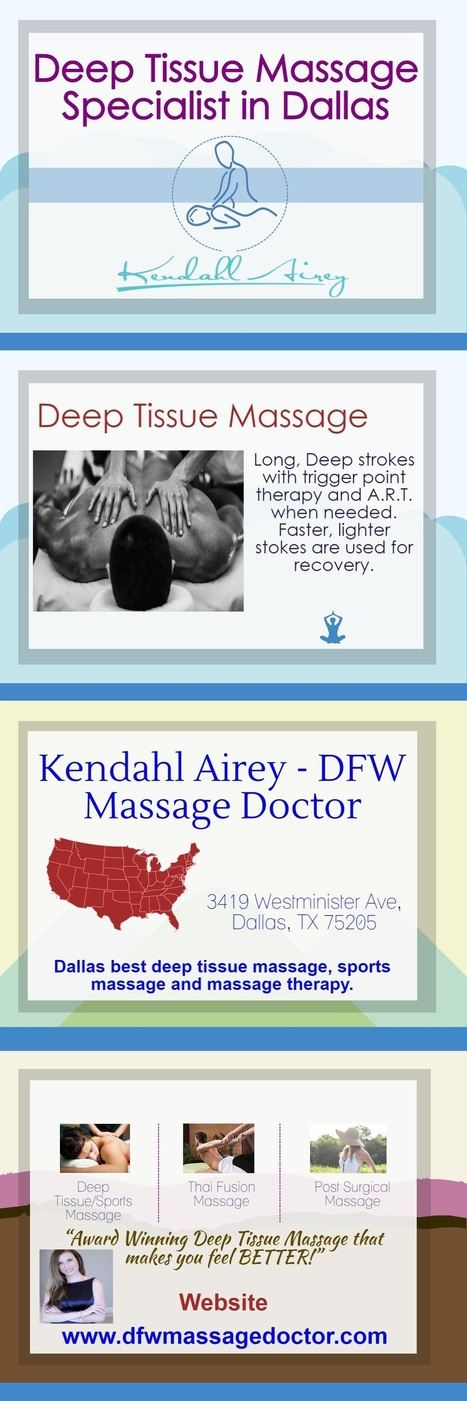 Deep Tissue Massage Specialist in Dallas   Healthy Fitness Life   Scoop.it