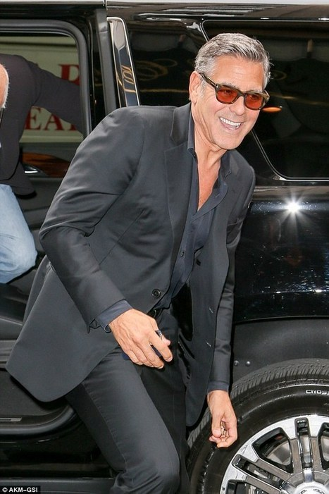 George Clooney promotes his tequila company Casamigos in New York City | Roger Pollock | Scoop.it