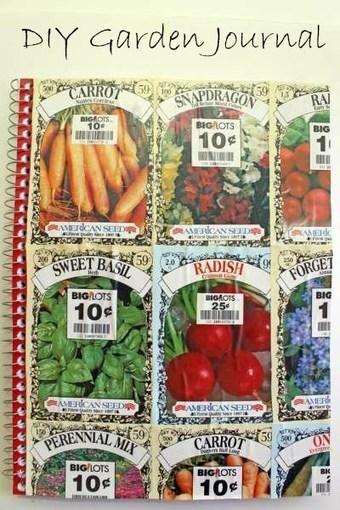 Seed Packet Garden Journal | AdLit | Scoop.it