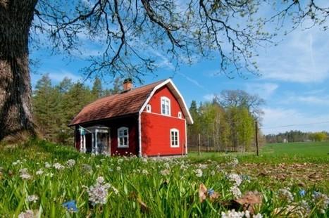 En Suède, la maison en bois voit rouge | Solution pour l'habitat | Le flux d'Infogreen.lu | Scoop.it