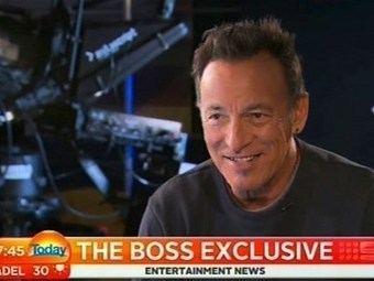 Bruce Springsteen interview on Australian TV (part 1) | Bruce Springsteen | Scoop.it