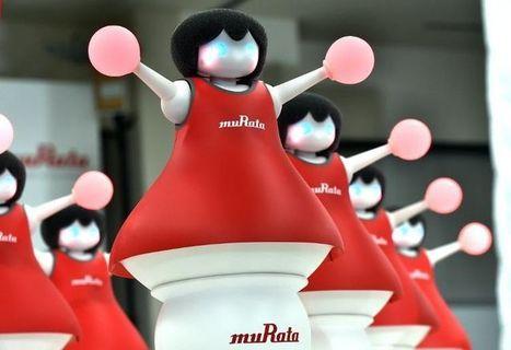 Japon: des «pom-pom girls» robotiques dansent pour vanter l'électronique | Tout est relatant | Scoop.it
